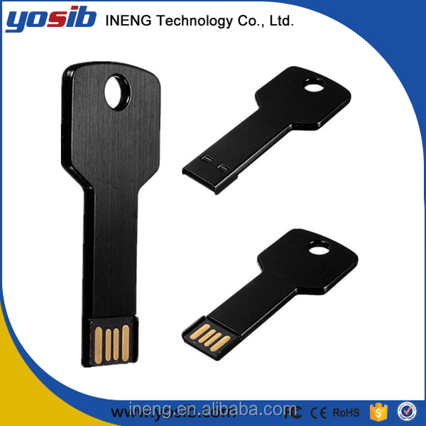 2017 Hot selling best wholesale price bulk usb flash drive key shape 1gb 2gb 4gb 8gb