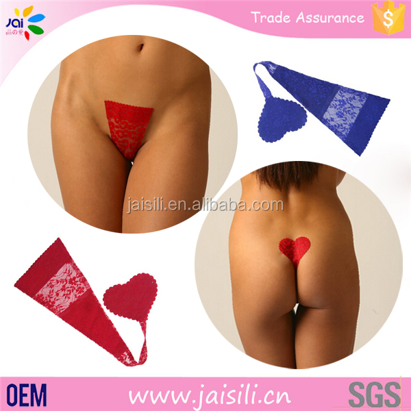 Pictures Young Women Seamless Underwear C String Adhesive Panties