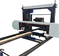MJ1000D horizontal wood band saw