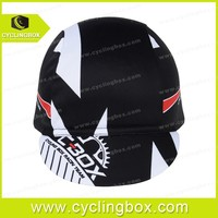 New fashion design high quality 2015 sublimation printing breathable cycling/bicycle caps with customized