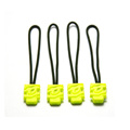 Custom cord rubber zipper puller for outdoor