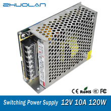 Ac dc low ripple high quality 12v 10a 120w led power supply for led 5050 light