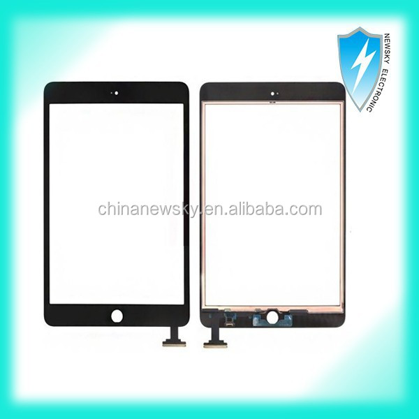 Digitizer touch screen for iPad mini Black