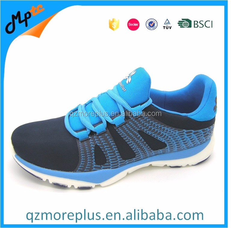 Mesh rubber printing confortable running shoes for women