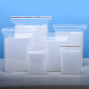 Resealable LDPE Clear Plastic Ziplock Bags