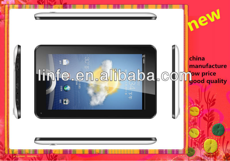 Android 4.2.2 Metal Case GPS Tablet PC 7 inch with 3G phone call