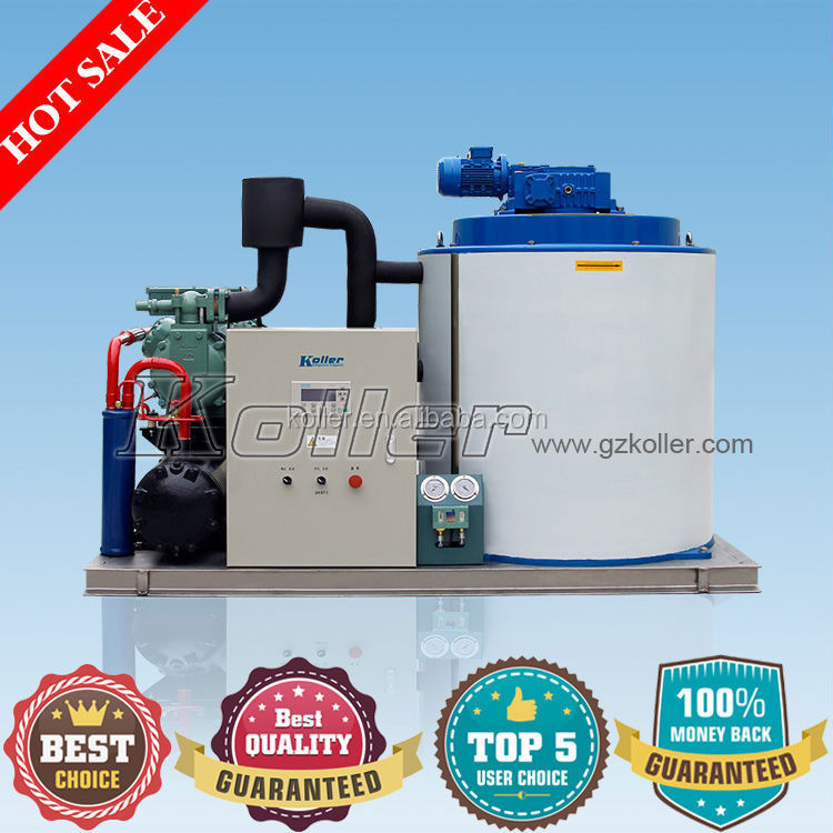 5 Tons Sea Water Flake Ice Machine For Fishing Boat
