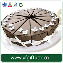 Fashion design circular paper gift box customized cake boxes wholesale