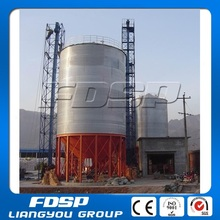 180T plastic raw material high technology steel silo with steel cone bottom steel structures