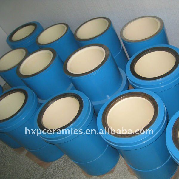 For Mud Pump Zirconia Ceramic Piston Zirconia Ceramic lining Zirconia ceramic liner
