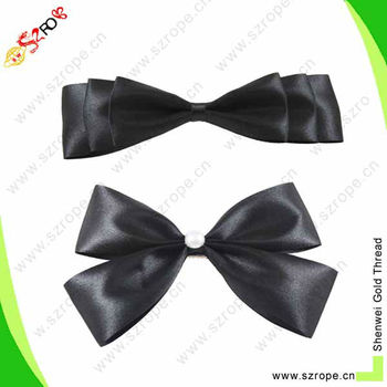 how to make a small bow with ribbon