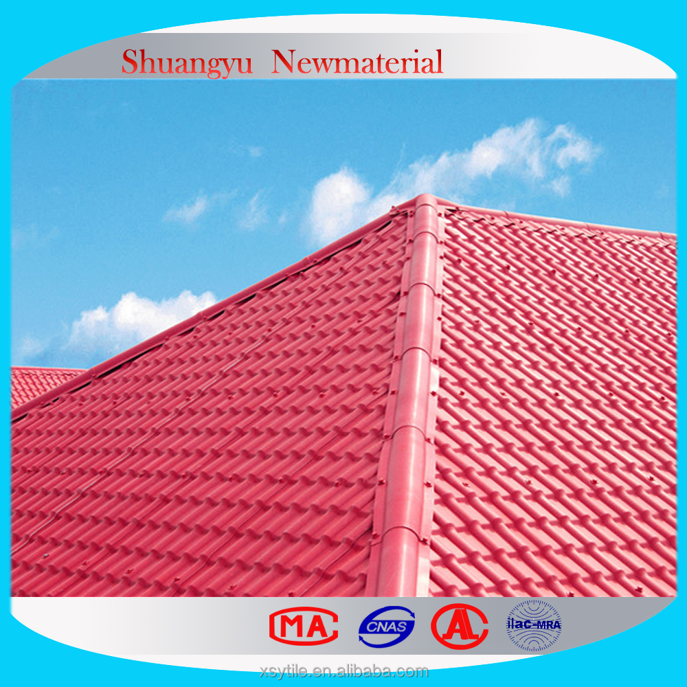 Anti-Fading PVC Roofing Sheet Tile.