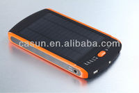 Portable solar power bank For Mobile Phone Camera