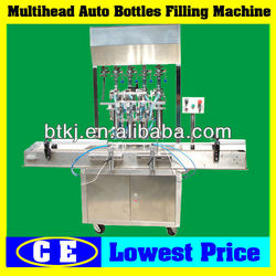 Food/Chemical/Medicine Paste/Liquid Bottle Piston Filler,Stainless Several Heads Automatic Piston Filling Machine for Sale