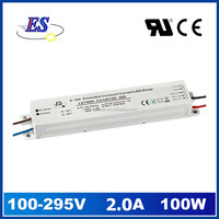 100W 2000mA 48V AC DC Constant Current 0-10V Dimmable LED Driver Power Supply with CE UL CUL