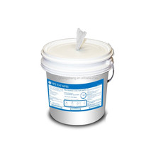 surface cleaning wet wipe in handy bucket