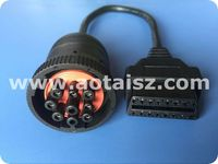 9pin J1939 to J1962 cable 16pin OBD OBD2 male female