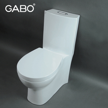 White Ceramic Round Urine Toilet