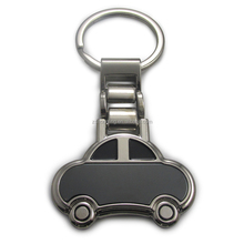 car shaped keyring automobile metal keychains