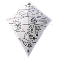 Best Kids gift diy drawing kite