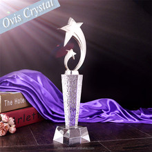 Standing Glass Star Trophy for Recognition Award ideas