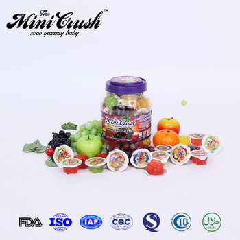 Different Models of football lychee fruit jelly