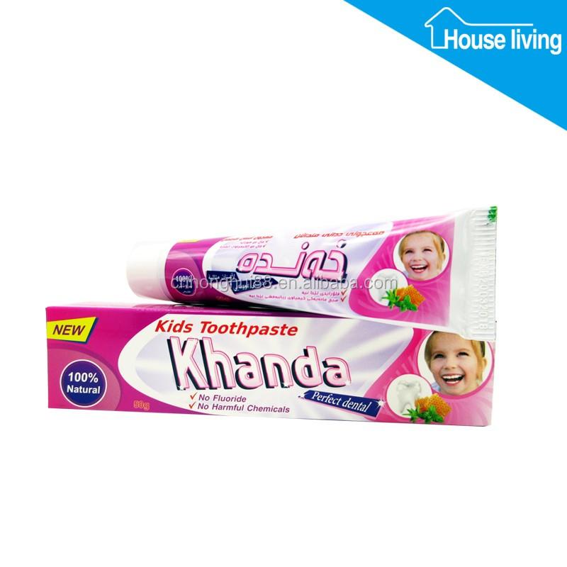 Зубная паста для детей своими руками