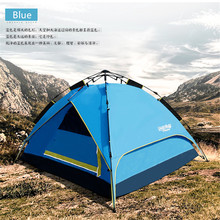 Family Shelter Cabin Camping Tent Instant Setup Hut Durable Camping tent