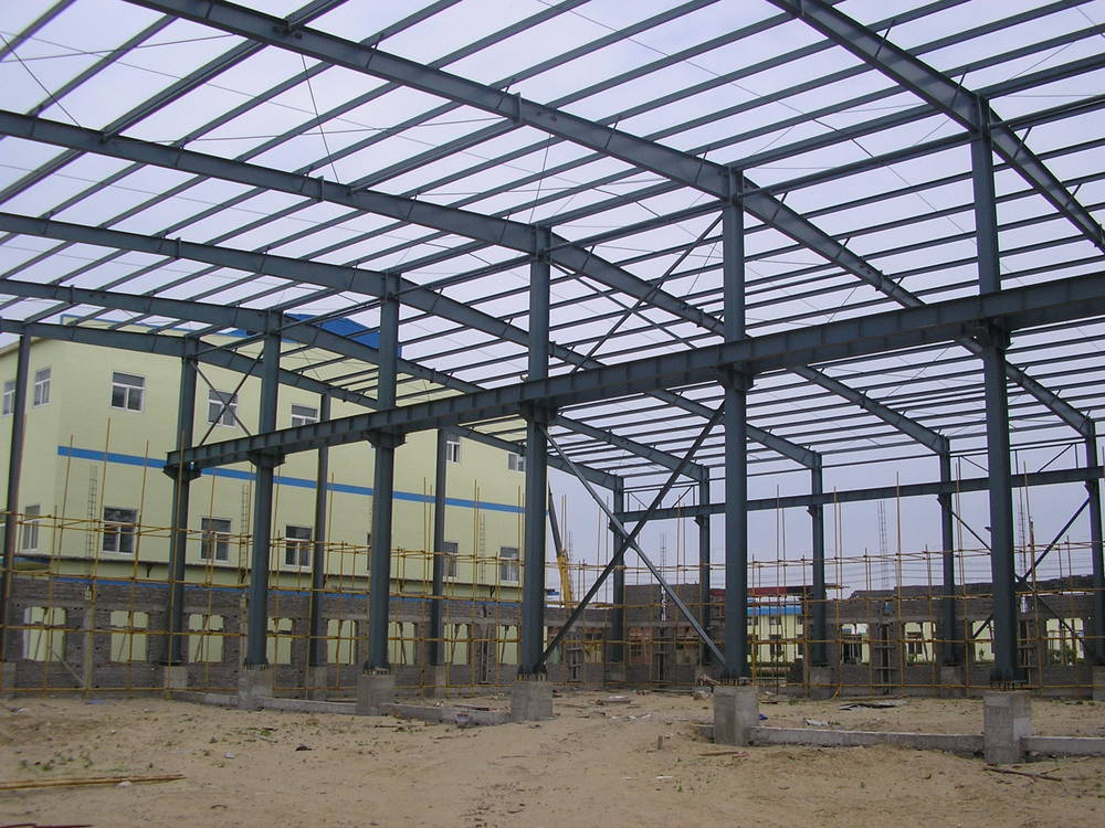Australia Standard Prefabricated Multi-storey Steel Workshop