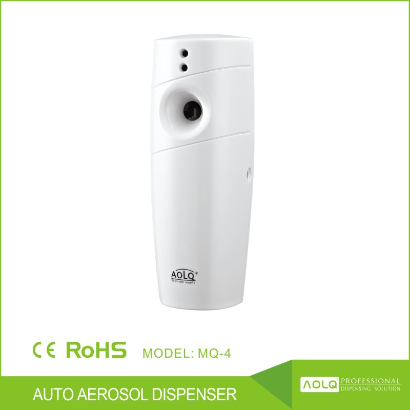 Top quality new design cheap useful auto fragrance dispenser , automatic perfume aerosol spray dispenser