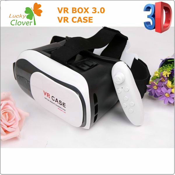 LuckyClover Good Quality Cheap VR Case 3D Movies Games Headset Real Virtual Reality VR 3D Glasses For Sale