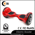 Fat wheels hover board 10 inch with led strip and bluetooth speaker