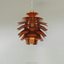 PH Artichoke pendant lamp hot sale aluminium silver copper pendant light for hotel restaurant