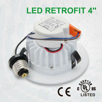 120V Dimmable USA Standard LED Lights Drop Ceiling Recessed 4