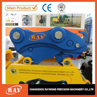 China top ten selling products hydraulic quick hitch couplers for excavator bucket