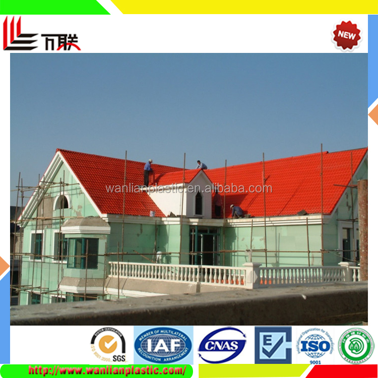 Wholesale China Synthetic PVC Corrugated Roofing Tiles Type