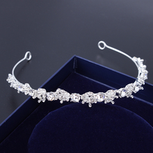 Factory directly fancy tiara wedding crown ornaments jewelry wholesale china