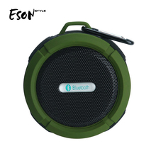 Eson Style Shower sucker music player mini stereo sound speaker box waterproof bluetooth speaker innovative wireless technology