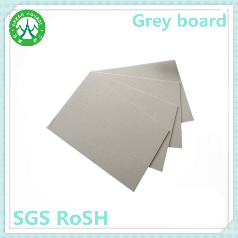 stock lot sheets 1mm grey chipboard paper