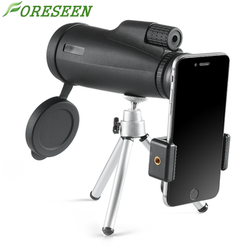 Foreseen 12x50 Powerful Prism Telescope Monocular Outdoor With Pouch