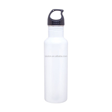 Slim Line Stainless Steel Water Bottle Canteen - 24oz. Capacity Stainless Steel Bottle With Sippy Cap