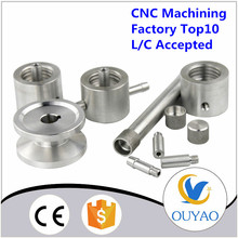 High precision aluminum 6061 cnc machining parts turned parts