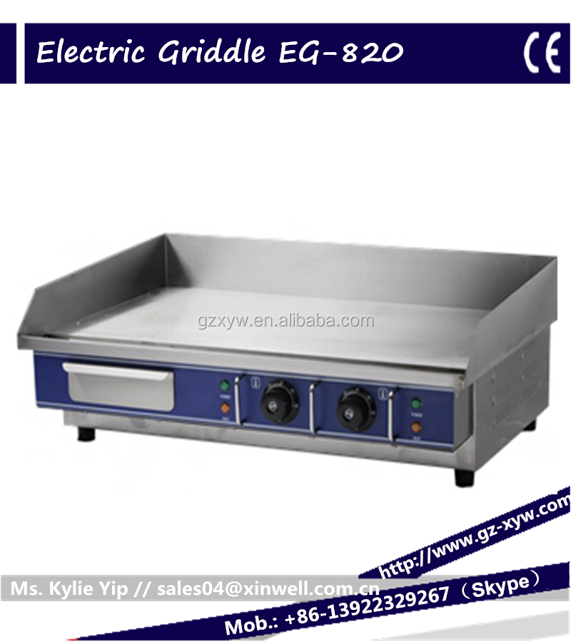 Electric Flat top Griddle and Grill for home appliance