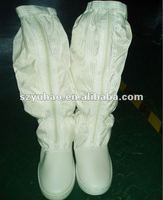 Industrial used Cleanroom Antistatic Shoes / esd long-face boots