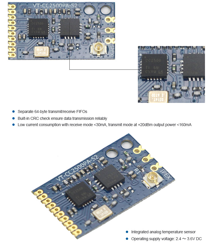 Smart Home 2.4GHz 20dbm Automation Module For Digital Automation