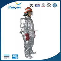 OEM fireproof heat insulation aluminium suit