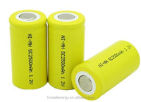 nimh SC 1.2V 2500mAh rechargeable battery