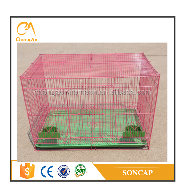Cheap portable folding bird cage wire breeding bird cage for sale