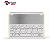 Aluminium/ABS Material Wireless game bluetooth 3.0 laptop keyboard
