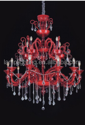 Modern indoor hotel project decorative K9 Crystal Chandelier